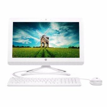 Jual HP PC All in One 22-B015L - Intel Core I3-6100 - 4GB - 500GB - VGA - 21.5 - DOS - Putih