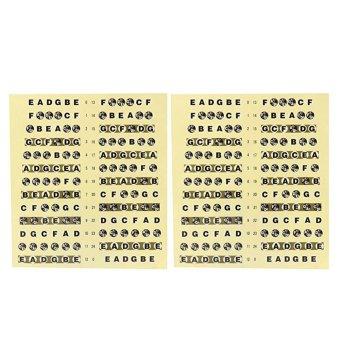 2Pcs Guitar Fretboard Note Sticker (Intl)