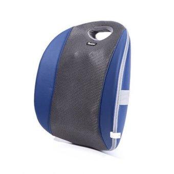Zespa Zp-740 Electric Vibrating Heating Home Car Back Massage Cushion (Intl)