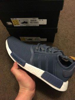 harga Adidas Sneakers Pria Series NMD - Navy Lazada.co.id