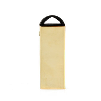 16GB USB 2.0 Mini Key Ring Memory Stick Flash Drives Storage U Disk Golden (Intl)