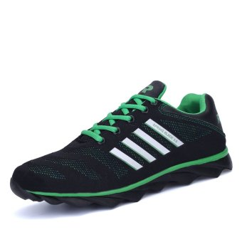 PINSV Women Sport Shoes Breathable Running Shoes(Blue) - Intl
