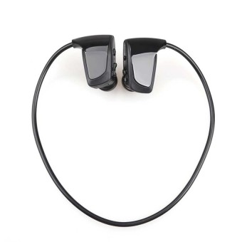 S & F New Sports Wireless Water Resistant WMA MP3 Music Player 2G Headset (Black) - Intl