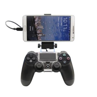 MCE Cell Mobile Phone Smart Clip Clamp Holder for PS4 Game Controller (Intl)