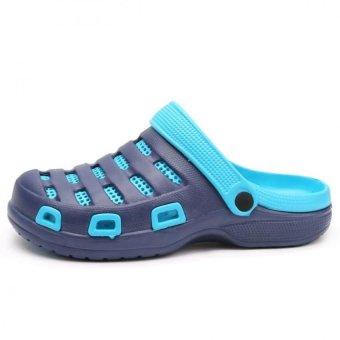 YAER Men's Fashion Brach Sandals (Navy) - Intl