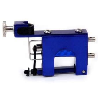 S & F Rotary Motor Tattoo Machine Motor F Kit Supply Set Liner Shader (Blue)
