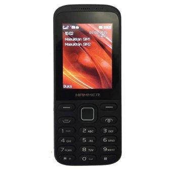 Advan Hammer R3D - Dual SIM - Hitam
