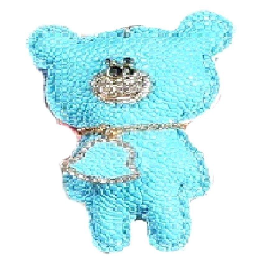 harga Charm Gantungan Tas Panda-Biru Lazada.co.id