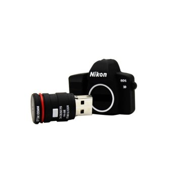 Incipient 16GB Lovely SLR Camera Shape design Flash Drive (Intl)