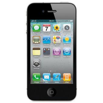 Refurbished Apple iPhone 4 - 8 GB - Hitam - Grade A