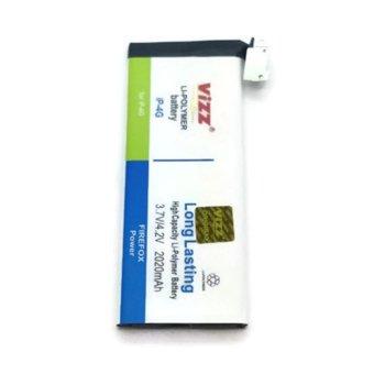 ViZZ Battery Double Power for Apple iPhone 4G - 2020mAh terpercaya