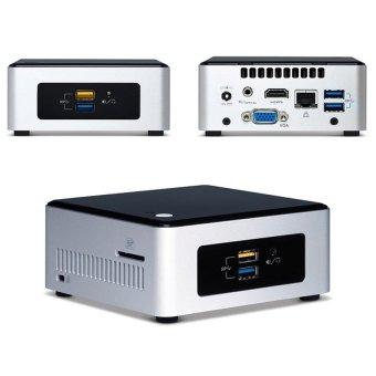 Intel NUC Mini PC - 4 GB - Broadwell Celeron N3050 - NUC5CPYH - WIN 10- Hitam