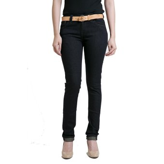 harga Nudie Jeans Skinny Lin Dry Steel - Female Indigo Biru Lazada.co.id