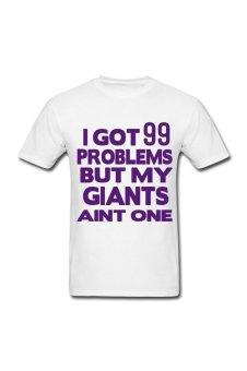 Men's I Got 99 Problems Custom T-Shirt for white - Intl