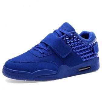 PATHFINDER Unisex Fashion Flat Walking Shoes Women Sneakers Q05 (Blue) - Intl