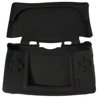Black Silicon Soft Case Skin Cover for Nintendo DSL NDSLite (Intl)