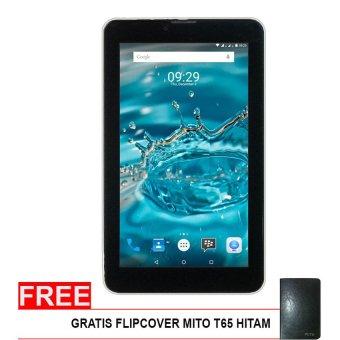Mito T65 Fantasy Tablet - 8GB - Hitam + Gratis Flipcover
