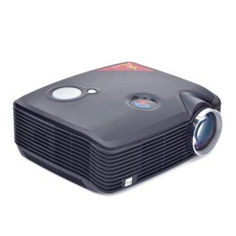 GOLDFOX PH5 2500 Lumens LED Projector 360 Degree Flip HDMI USB Inputs (Black) (Intl)