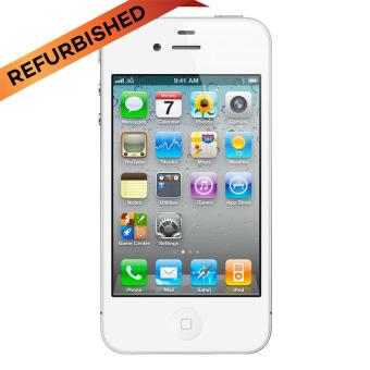 Refurbished Apple iPhone 4G 32GB - Putih - Grade A