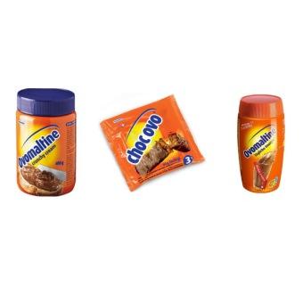 harga Ovomaltine Paket (Crunchy Cream Spread 400g, Choc Ovo 60g, Drink Powder 500g) Lazada.co.id