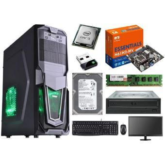 Intel Core i3 2120 3.3GHz Komputer Rakitan Office Paket LED 16