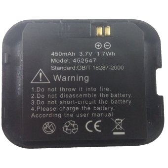ZGPAX Original 450 mAh 3.7V Battery for S29 and S28  Hitam terpercaya