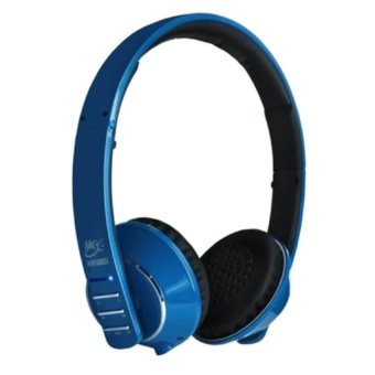 Meelec Tronics Air-Fi Runaway Stereo Bluetooth Wireless Headphones with Hidden Microphone - AF32 - Biru