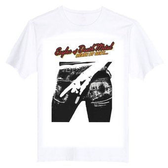 EAGLES OF DEATH METAL SEXY ALTERNATIVE GARAGE ROCK 100% Cotton O Neck Camiseta Unisex Short Sleeve T Shirt - INTL