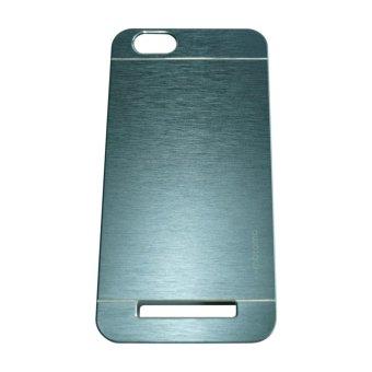 Motomo For Lenovo Vibe C A2020 Hardcase Backcase Metal Case - Biru Tua