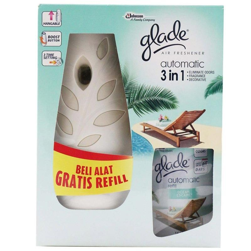 Diskon Glade Automatic 3 In 1 Spray Shandy Glade Indonesia