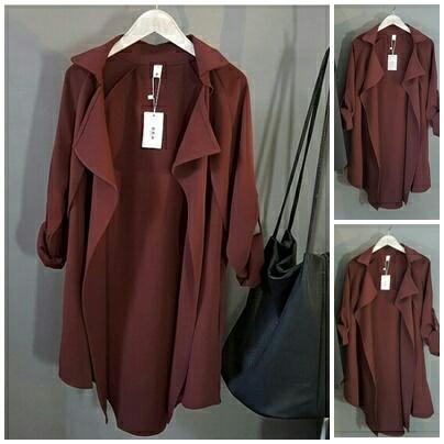AG Apparel Blazer Bella Maroon   Blazer Wanita   Outerwear Wanita   Fashion  Wanita   Jaket c320f206c3