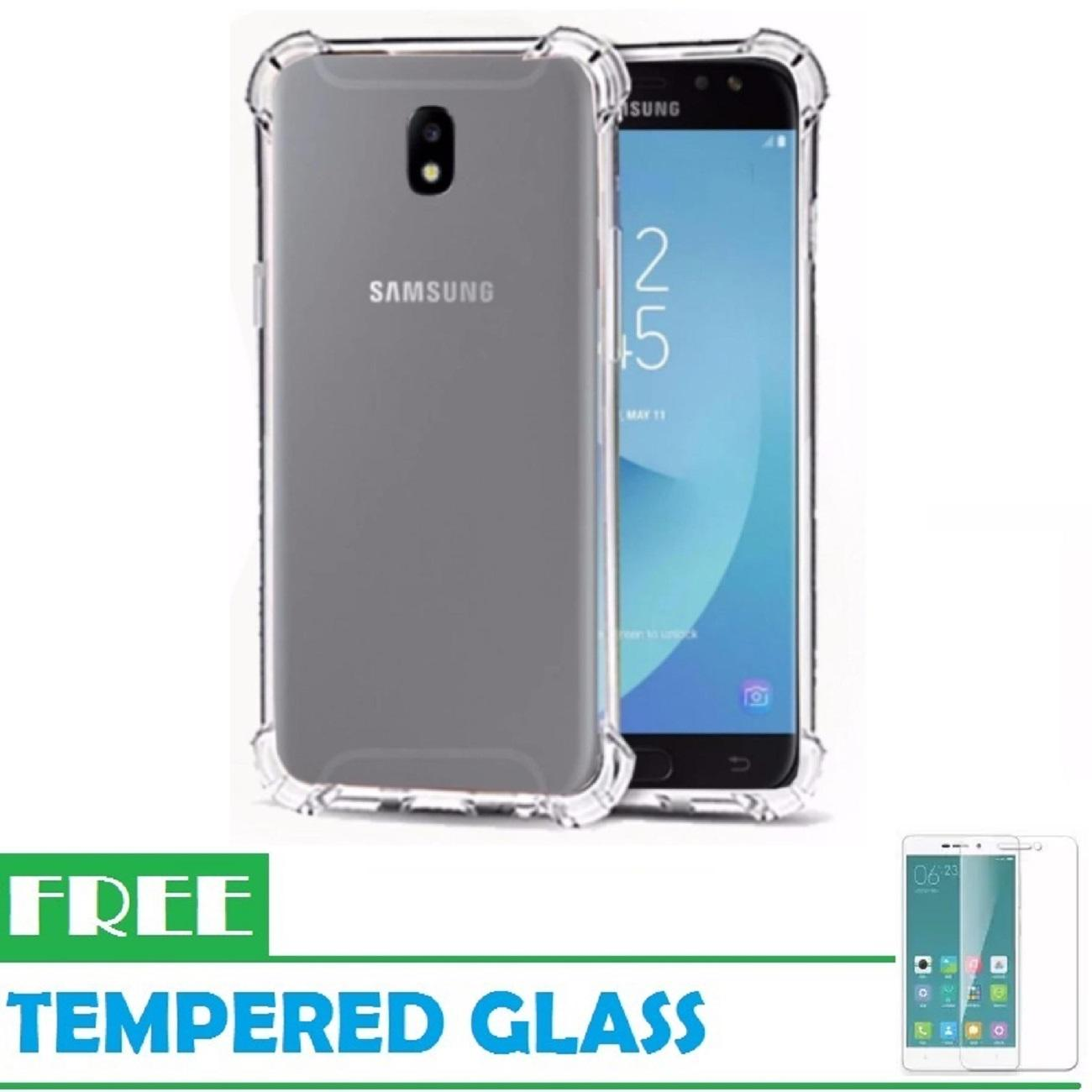 Fitur Samsung Galaxy J5 Pro Case Anti Crack Tpu Softcase Clear Free