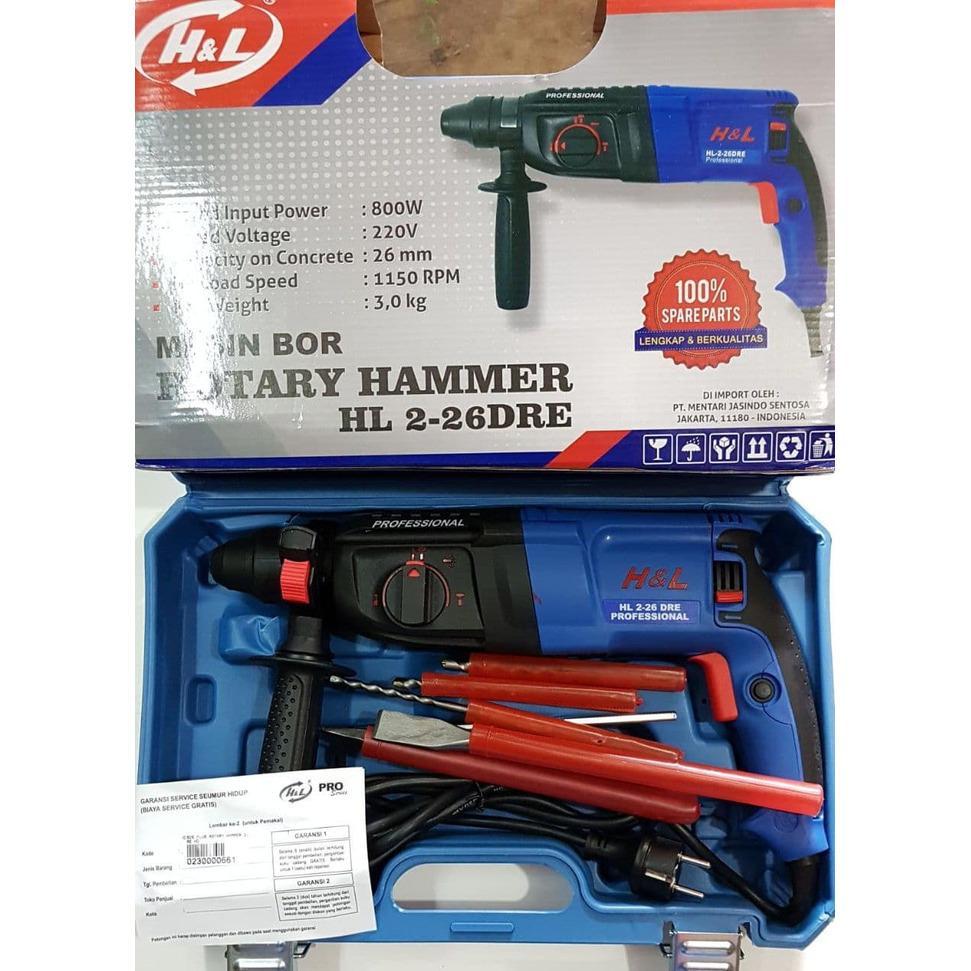 Beli Mesin Bor Beton Bobok Sds Plus Ryu Rotary Hammer Ryu Rrh26 Kredit Jawa Barat