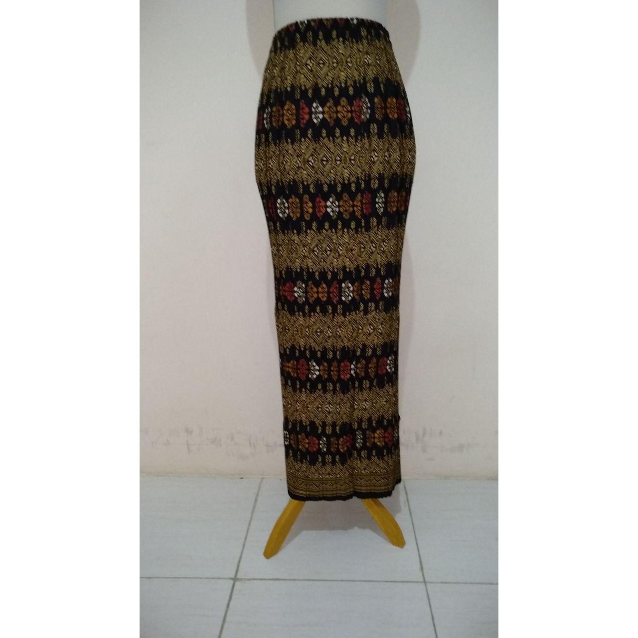 Beli Sb Collection Rok Plisket Hena Maxi Panjang Jumbo Batik Wanita Kredit Banten