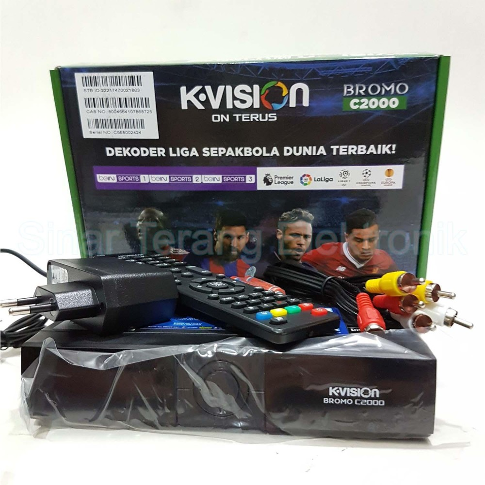 Receiver KVision Bromo C2000 CBand
