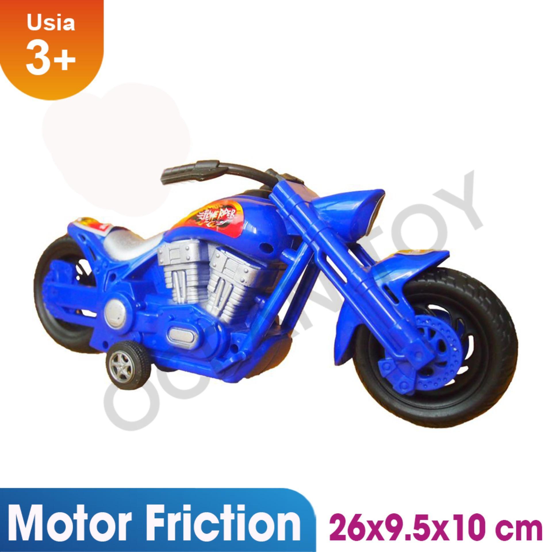 Toko Jual Ocean Toy Kereta Lokomotif Obeng Mainan Bongkar Pasang Terompet Motor Flame Rider Anak Oct5715 Multicolor