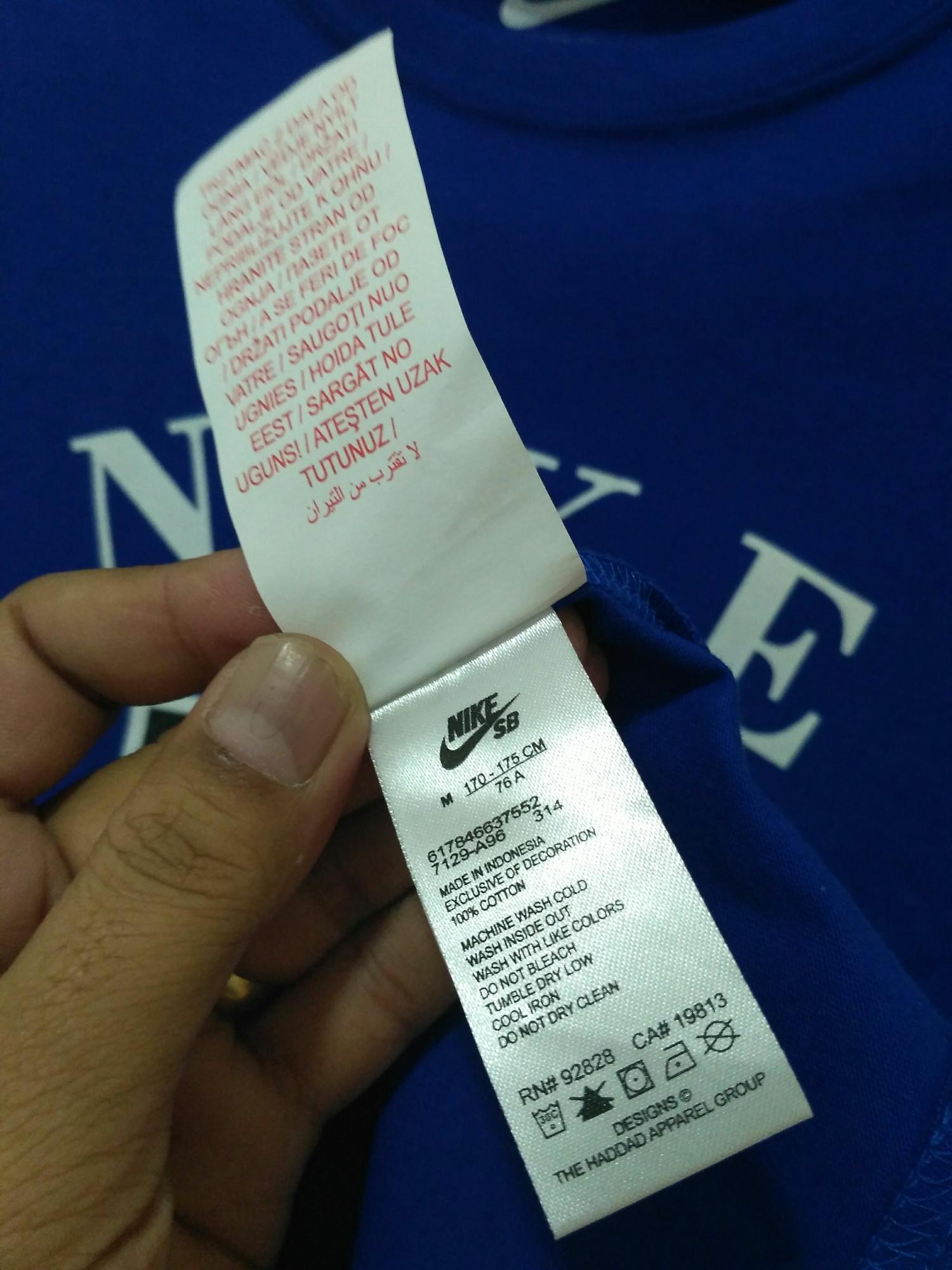 Detail Gambar Kaos Pria Nike 003 Real pic Terbaru