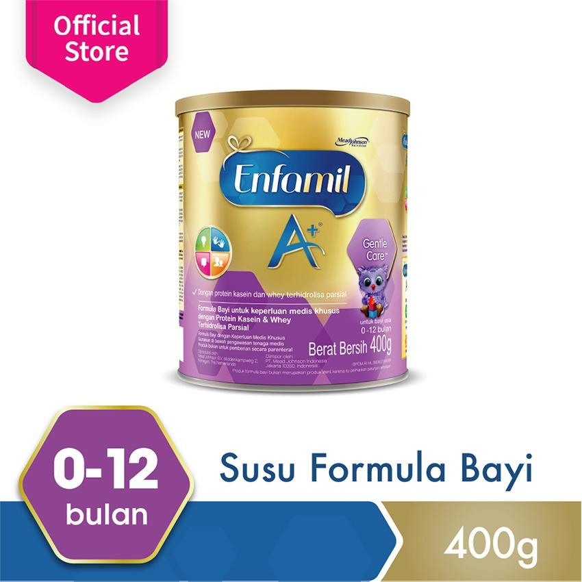 Ulasan Mengenai Enfamil A 1 Susu Formula Bayi Plain 400 Gr Box
