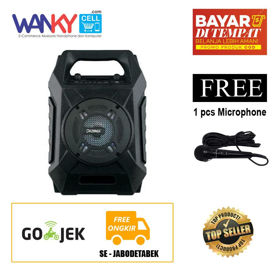 Harga Dazumba Dw 186 Portable Wireless Speaker Hitam Dazumba Asli