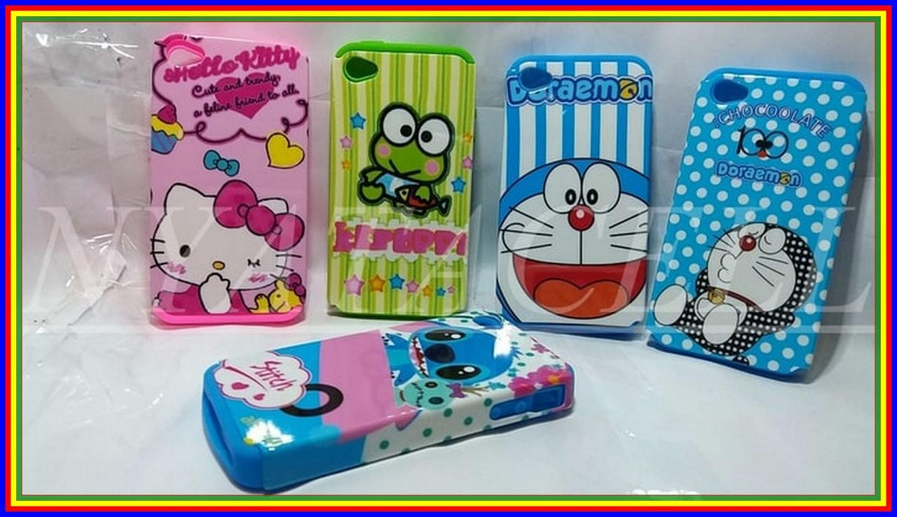 Obralll Case Karakter Hello Kitty Stitch Keropi Doraemon Melody