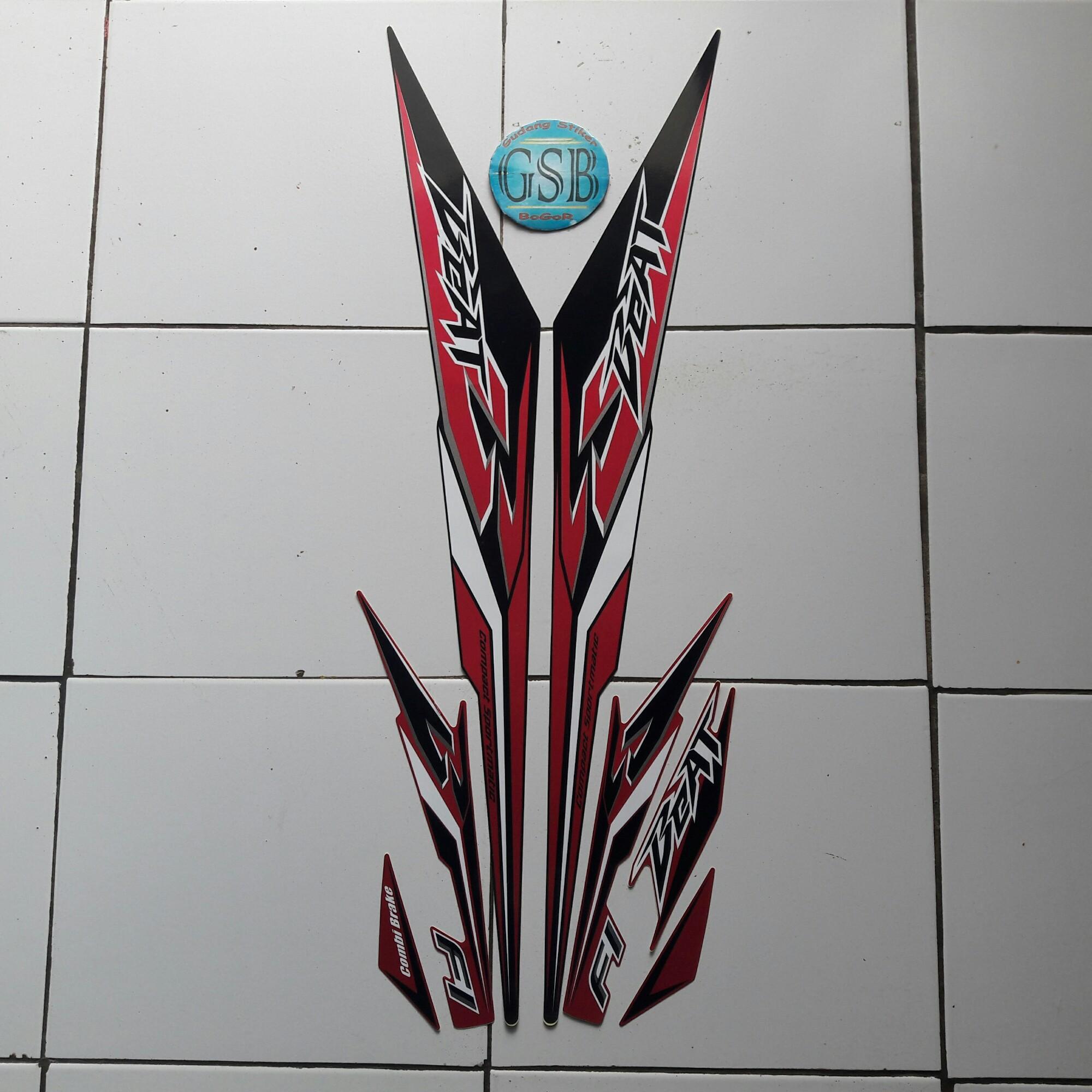 Kelebihan Cover Motor Honda Beat Sporty Cbs Iss Merah Terkini New Vario 110 Esp Grande White Jakarta Stiker Striping Fi Thailand 2018 Hitam Ungu