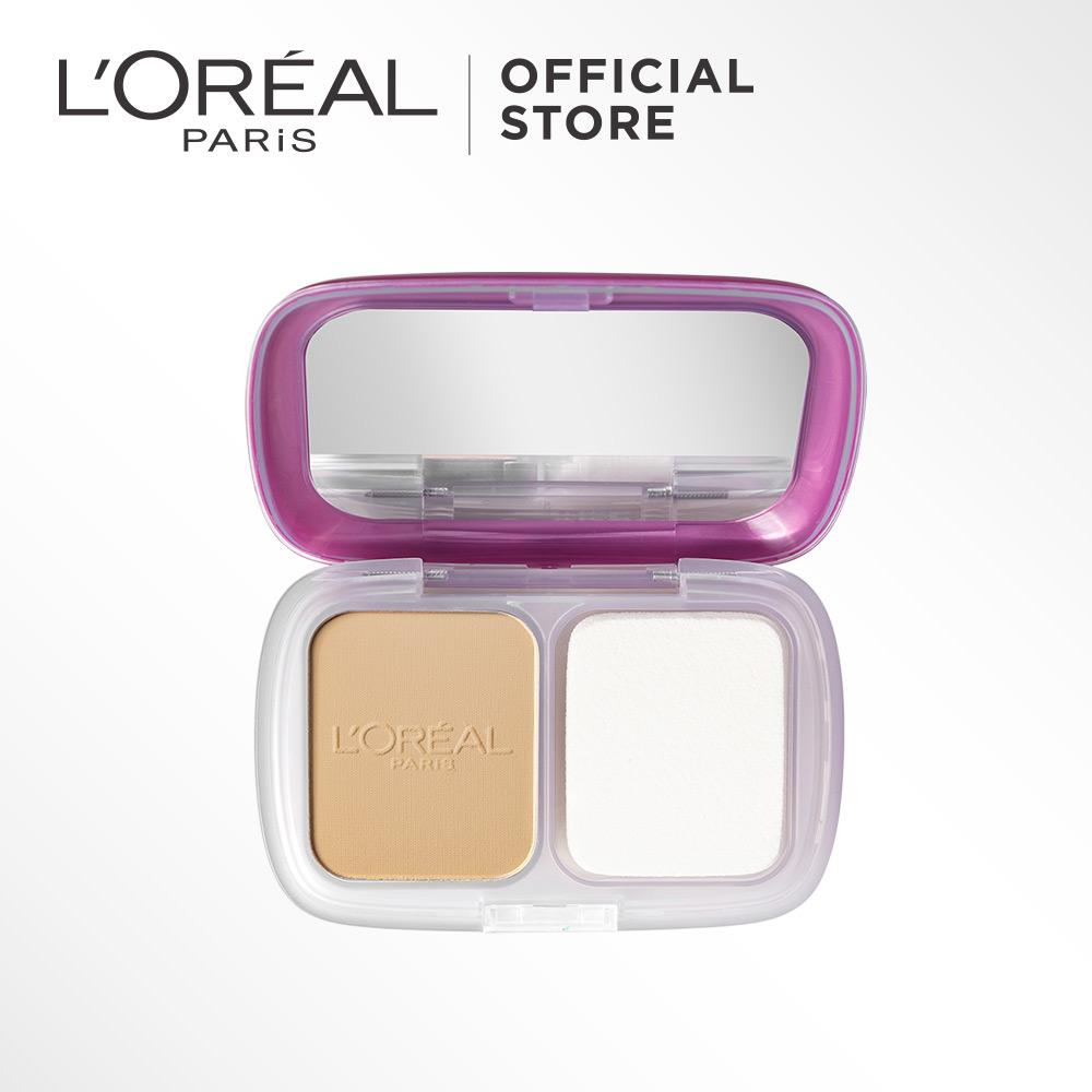 Spesifikasi L Oreal Paris Mat Magique Two Way Cake Powder G2 Golden Ivory Merk L Oreal Paris