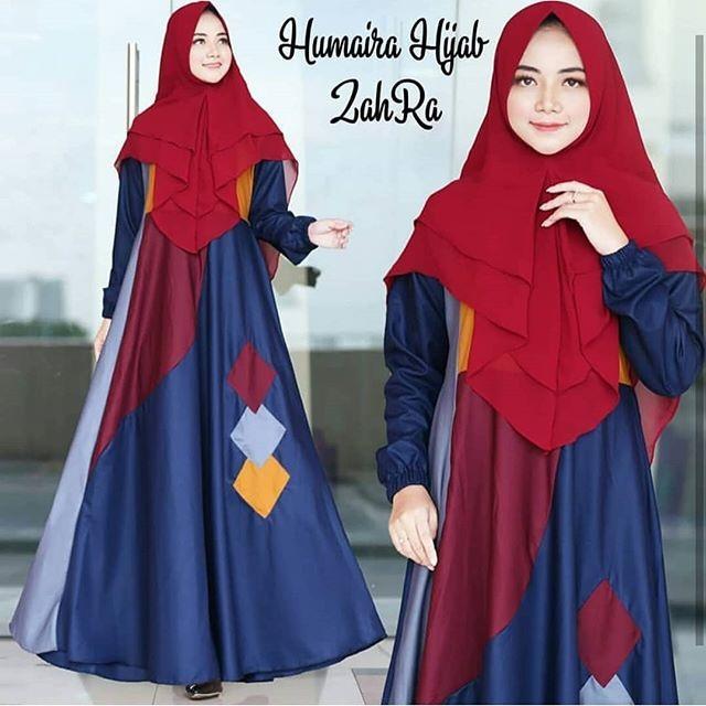 Baju gamis balotelli gamis terbaru gamis murah fashion muslim wanita gamis syari baju muslim PB053