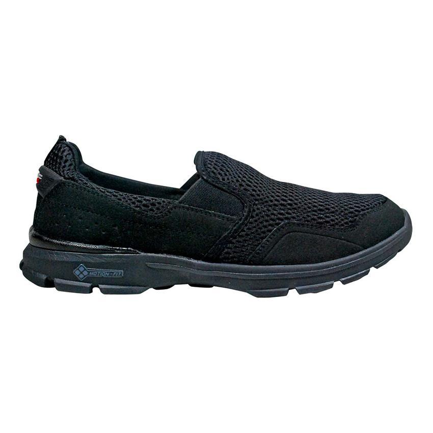 Spotec Buster Sepatu Jalan/Walking - Hitam/Hitam