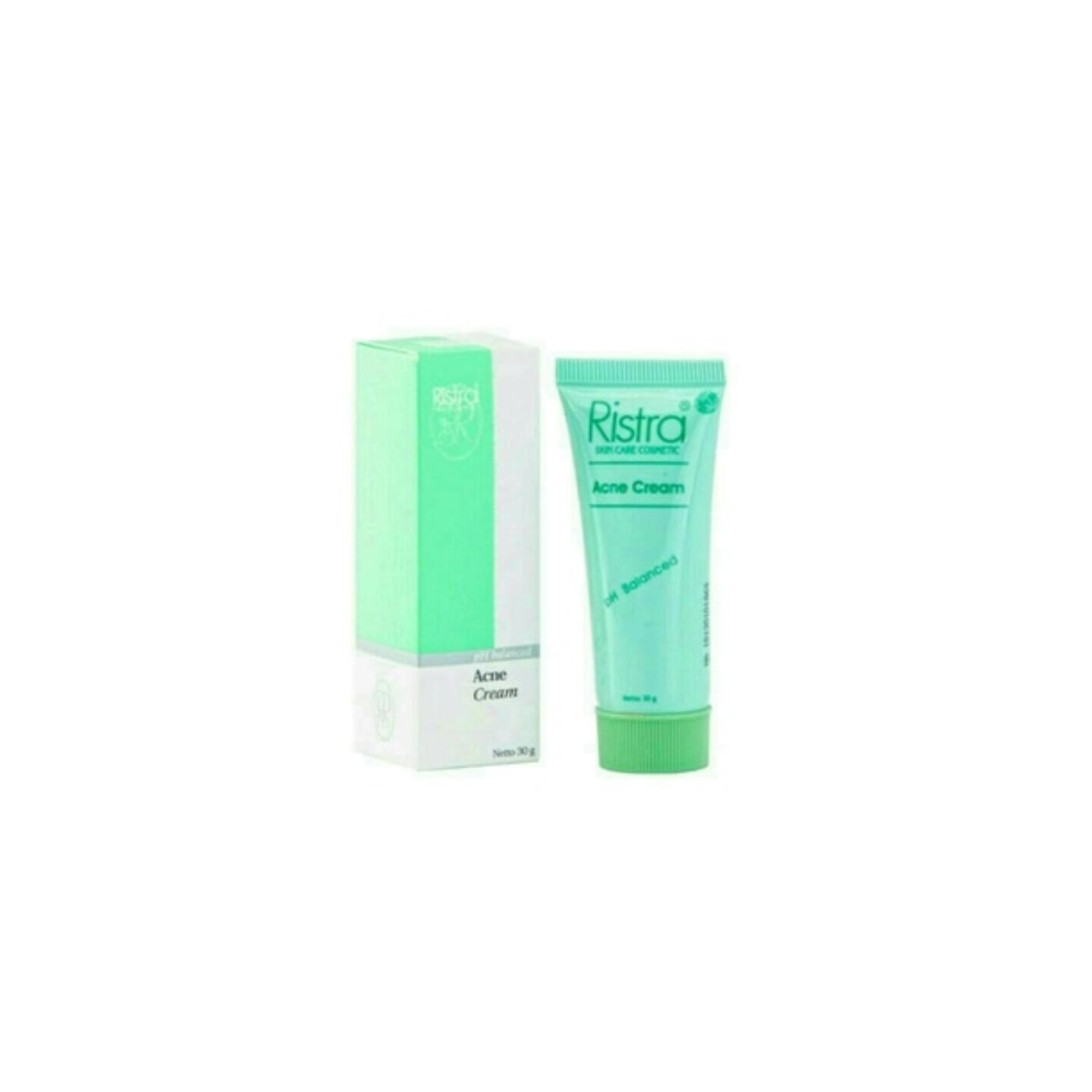 Ristra Acne Cream 30 Gr - Obat Jerawat, Penghilang Jerawat, Krim Jerawat, Penghilang