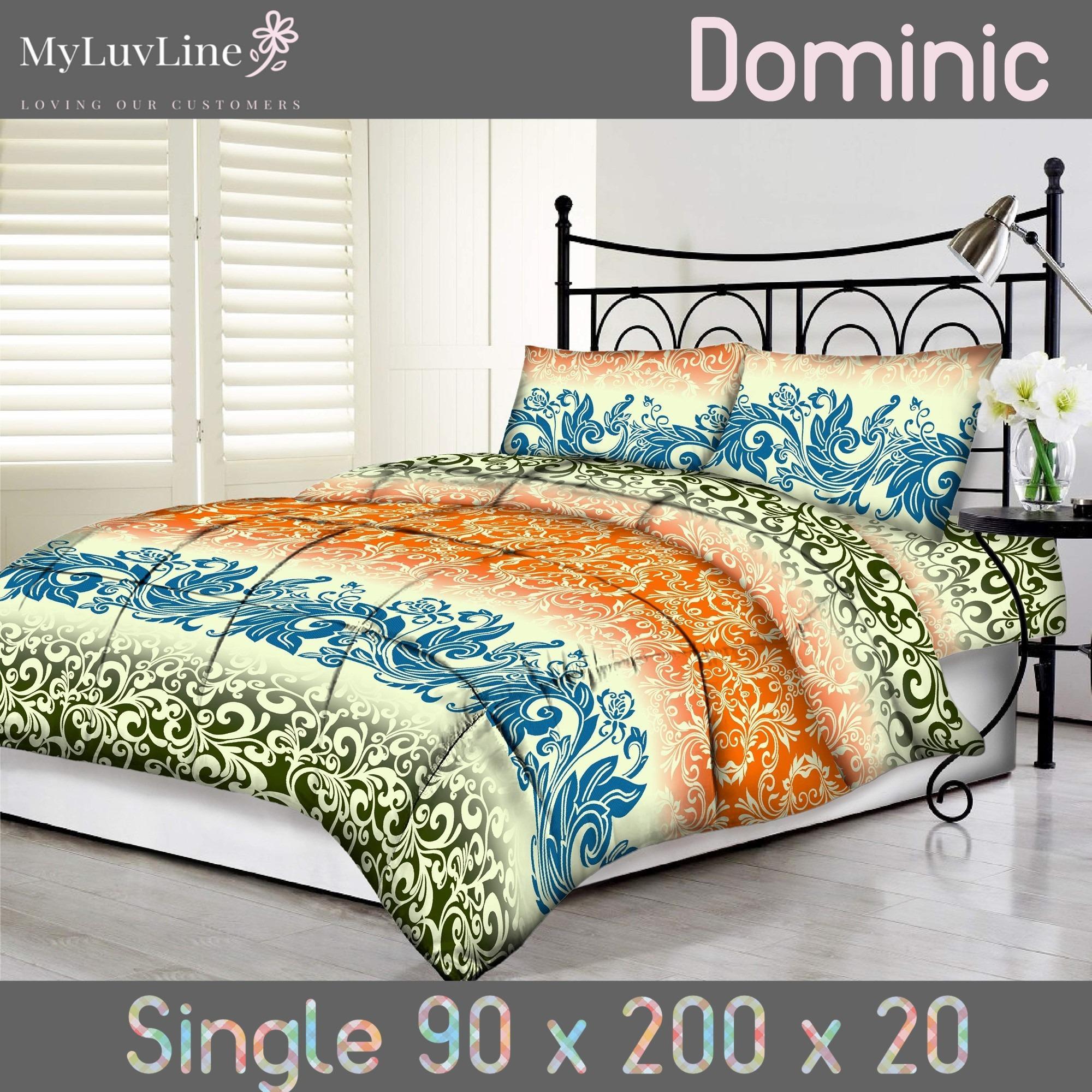 Beli Tommony Sprei Size 90 S D 180 Dominic Cicilan