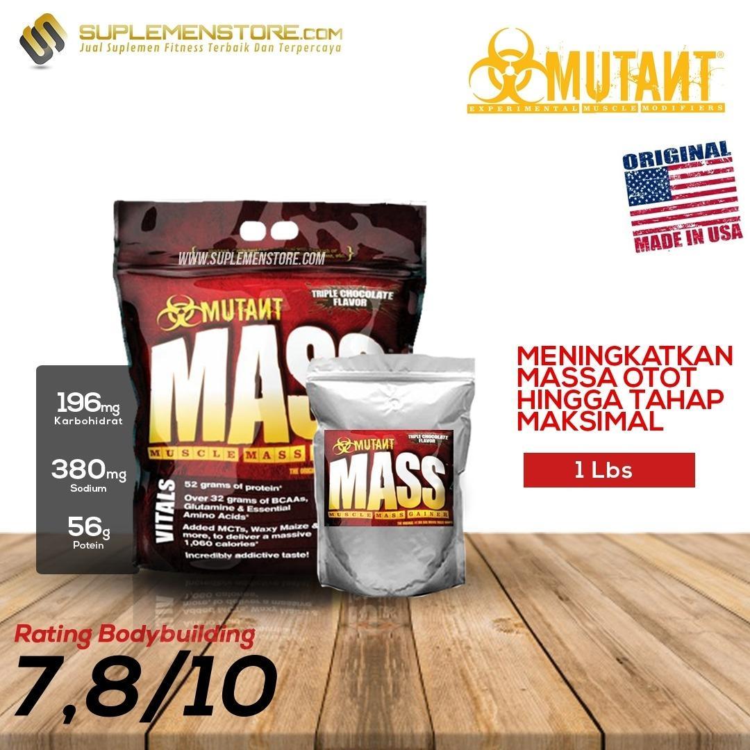 Diskon Mutant Mass 1Lbs Eceran Jawa Barat