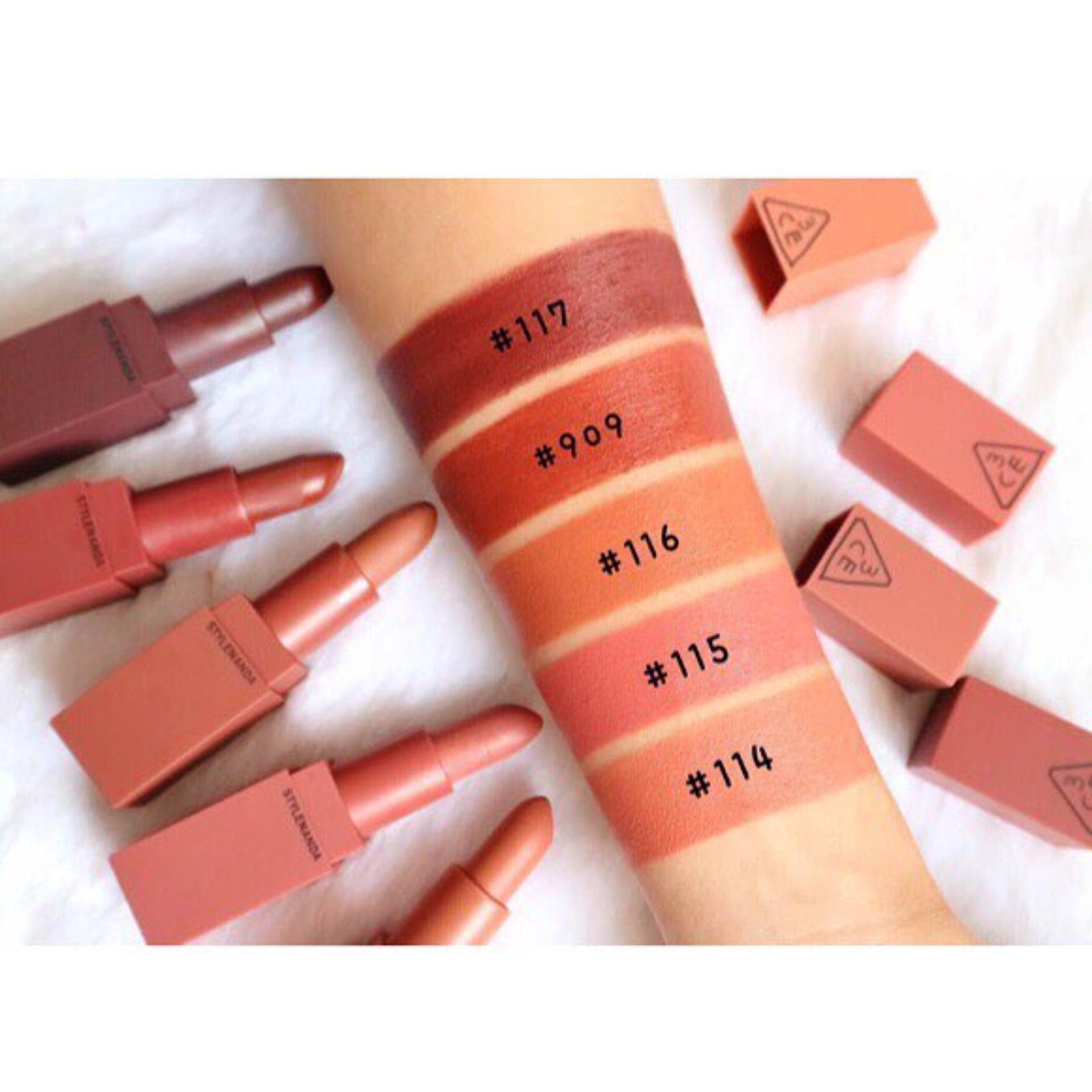 Detail Gambar LIPSTICK 3CE SET MINI KIT MOOD RECIPE LIP COLOR MINI KIT NUDE Terkini
