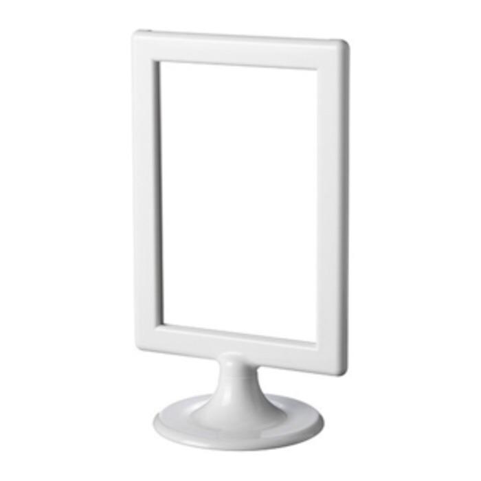 IKEA TOLSBY Frame 2 Sisi Bolak Balik Frame Picture Bingkai Foto Putih