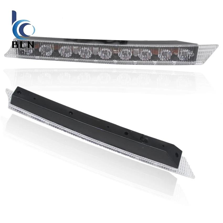 Toko 【Bln Auto】2X 9 Led Daytime Running Driving Light Drl Fog Lights For Audi A6 2005 2008 Waterproof Car Styling 12V 2 7W Murah Hong Kong Sar Tiongkok